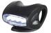Knog Skink Framlampa vit LED svart